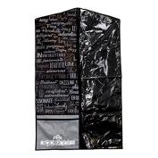 Organizables Women's Hanging Garment Bag, 100cm Long by 60cm Wide, Grey