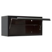 Viper Tool Storage V36WCBL 90cm 18G Steel Wall Cabinet, Black