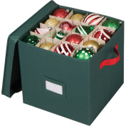 Holiday 64 Compartment Cube Ornament Organiser