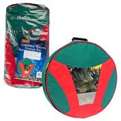 Christmas Wreath Storage Bag with Handles - Heavy Duty