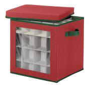 Whitmor 6129-5340 Ornament Storage Cube, 64 compartments