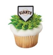 MLB San Francisco Giants Cupcake Rings - 24 ct