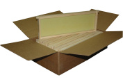 Mann Lake WW926 10-Pack Assembled Commercial Frames with Waxed Natural Rite-Cell Foundation, 16cm