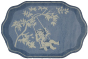 Fun Rugs Blue Toile Accent Rug, 100cm by 150cm