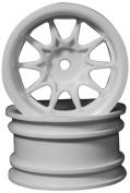 Ride Mini 10 Spoke Wheel, Wide Offset, White