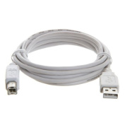 Certified USB 2.0 High Speed Cable - 1.8m A-B Male - White