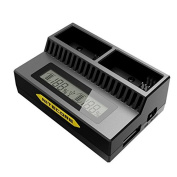 Nitecore UGP3 LCD Intelligent USB Charger For GoPro 3/3+ Battery