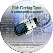Disc Drive Cloning Tools on an 8GB USB Drive - Complete Hard Drive Cloning and Backup Tools