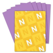 NEW - Astrobrights Coloured Paper, 11kg, 8-1/2 x 11, Planetary Purple, 500 Sheets/Ream - 22671