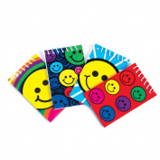 ~ 12 ~ Smile / Smiley Face Spiral Note Pads ~ New ~ Notebooks, Smile Face Party Favours, Memo Pads