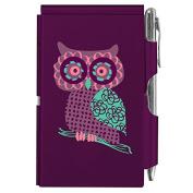 Wellspring Flip Note, Purple Owl