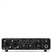 Behringer UMC204HD U-Phoria USB Audio/MIDI Interface with MIDAS Microphone Preamplifiers
