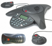 Polycom SoundStation 2 EX with 2 Mics Included (2200-16200-001)+