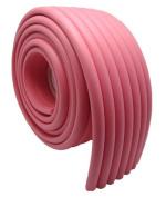 Viskey DIY Baby NBR Safety Protector Table Edge Softener 200cm *7.6cm Pink