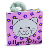 Jellycat Board Books, If I Were a Kitty Book - 15cm