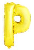 USPRO® 110cm Gold Letter P Balloon