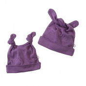 Babysoy Baby Girls' Duo-Styles Signature Hat