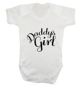 Daddy's girl baby vest bodysuit babygrow