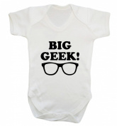 Big Geek baby vest bodysuit babygrow