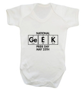 National Geek Pride Day May 25th baby vest bodysuit babygrow