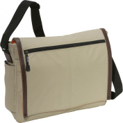 Derek Alexander Full Flap Messenger Bag