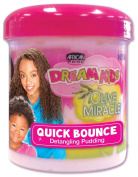 African Pride Dream Kids Olive Miracle Quick Bounce Hair Detangling Pudding 425 g