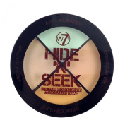 W7 Hide 'N' Seek Colour Correcting Conealer Quad Green