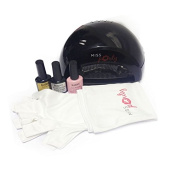 Miss Pouty Starter Nail Kit- Includes LED Nail Lamp, UV Proctive Nail Gloves, 3 x 10ml Bluesky Nail Gels