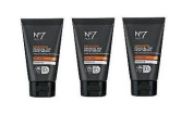 (3 PACK) No7 Men Energising Gradual Tan Moisturiser SPF 15 x 50ml **Despatched within DOUBLE WALL BOX**
