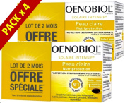 Oenobiol Intensive Solar Nutriprotection Light Skins - Pack 4 x 30 Gel Caps