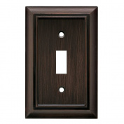 BRAINERD 64241 Architectural Single Toggle Switch Wall Plate / Switch Plate / Cover vbr