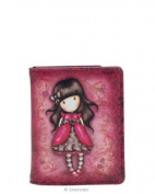 Gorjuss Travelcard Holder - Ladybird
