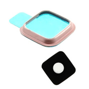 BisLinks® Pink Rear Camera Glass Lens Cover Ring Repair for for Samsung Galaxy Note 4 N910