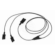 Cable duplicador Plantronics QD de 100cm - Cablematic