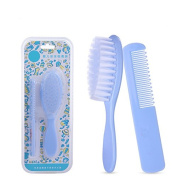 EQLEF® Infant Massage Hair Brush and Comb Set For Cradle Cap