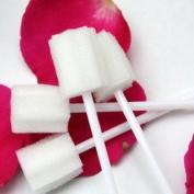 50Pcs of Disposable Oral Care Sponge Swab