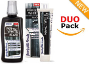 Beverly Hills Formula DUO PACK Perfect White/Black Toothpaste 100ml & Mouthwash 500ml