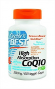 Doctor's Best High Absorption CoQ10 (200 mg), Vegetable Capsules, 60-Count by Doctor's Best