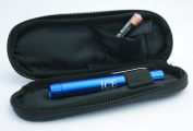 ICE Medical Blue LED Medical Penlight / Pentorch Pocket Torch Light with Zip Up Black Pouch