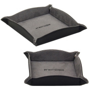 Friedrich Lederwaren Jewellery Trays Set Black 2-Piece Set of soft velvet interior