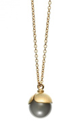 ARENA Copenhagen - Nada Agate Gold Necklace - Plated 18 Carats