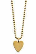 ARENA Copenhagen - Lilly Heart Gold Chain - Plated 18 Carats