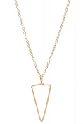 Philippe Nach - Triangle Necklace Gold