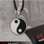 """Yin-Yang"" 20 mm 925 EtNox-Pendant Silver"