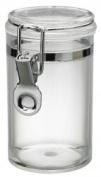 300ml Plastic Asirtight Clip Top Vintage Spice Chutney Storage Jar Pot by Chabrias Ltd