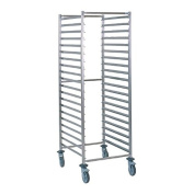 Tournus GN 2/1 Racking Trolley 20 Levels Stainless Steel Storage Commercial