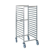 Tournus GN 2/1 Racking Trolley 15 Levels Stainless Steel Storage Commercial