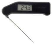 SuperFast Thermapen - professional food thermometer in black