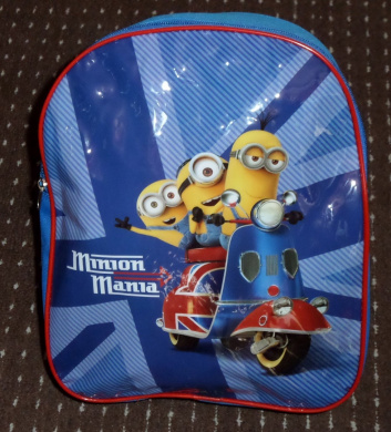 Minions - Exclusive Minion Movie London Backpack For Kids