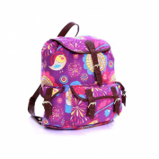 Karabars Printed Canvas Backpack - 3 Years Warranty!